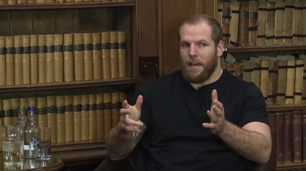 WATCH: James Haskell brilliantly describes how Rugby players can't be themselves in front of the media anymore