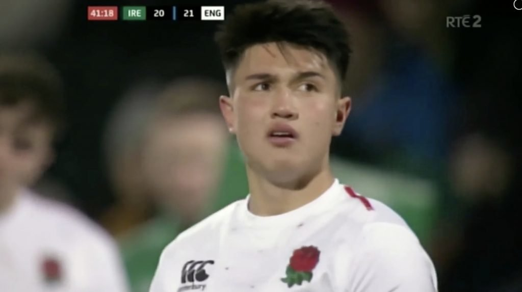 WATCH: Marcus Smith's trickery for England Under 21's show that he's simply on another level