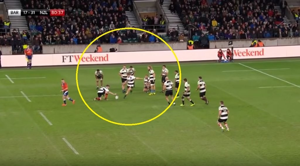 SUPERCUT: The best Barbarians tries ever have been stuck into a one ridiculous video