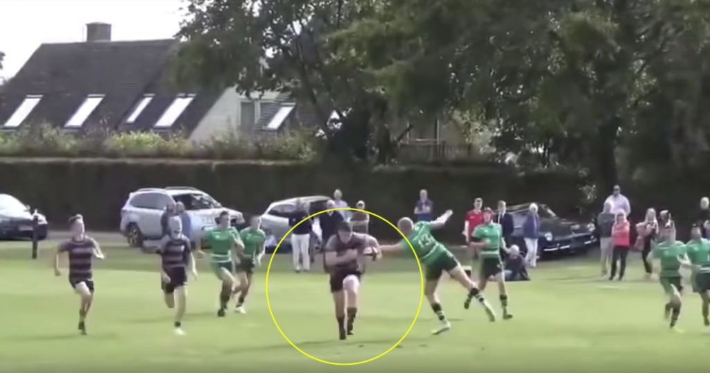 WATCH: Seriously impressive highlight reel drops on 18-year-old England hooker who's built like a centre