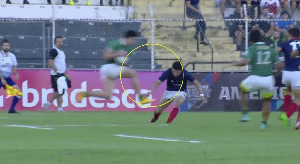 WATCH: Brazilian rugby back in the news with one of the worst knees to the head you'll ever see