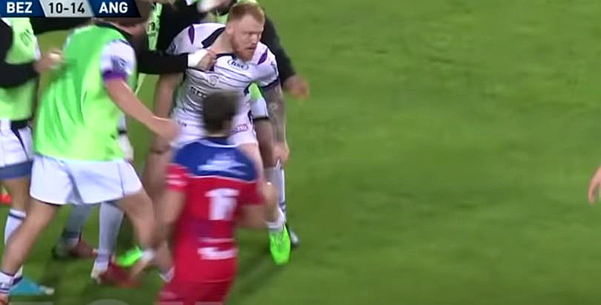 FOOTAGE: Meet the 110kg English centre running amok in the ProD2
