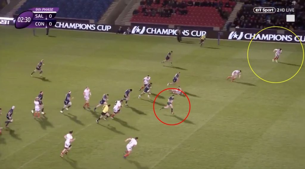 VIDEO: Denny Solomona yet again proves his worth with heroic try-saving dash