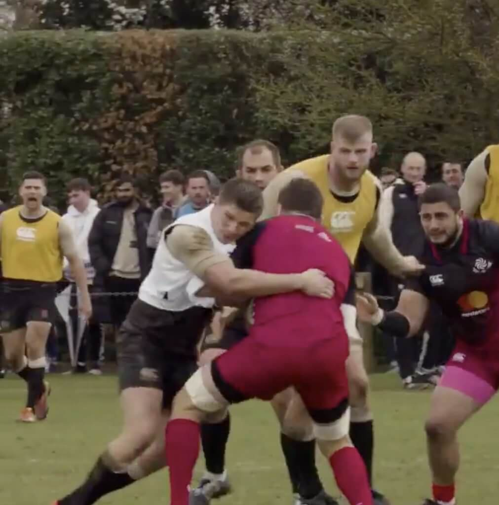 WATCH: The Owen Farrell smash that could have sparked England's hotel bust up with Georgia