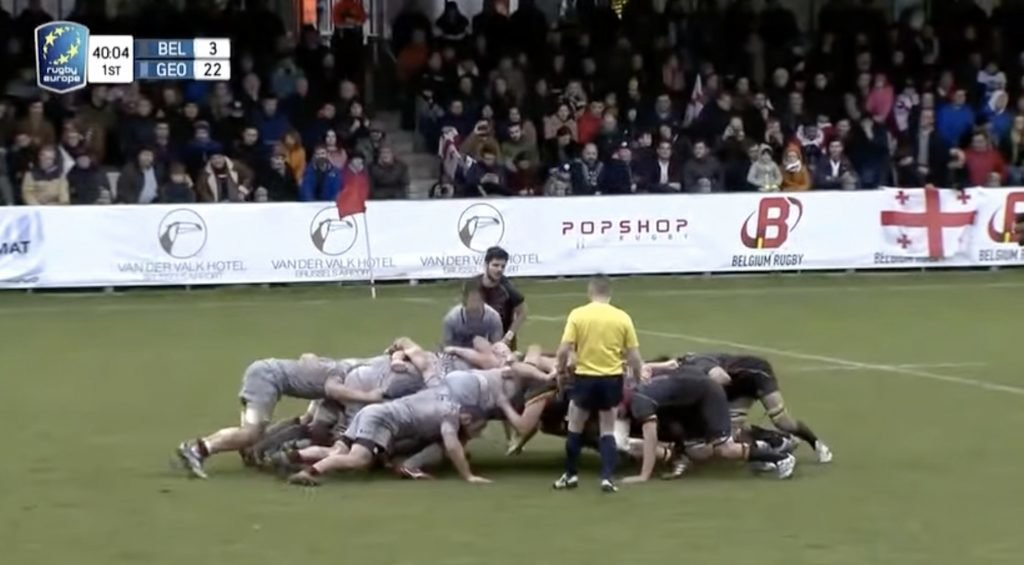 COMPILATION: Georgian scrum inflicts wholesale misery on their mortal opponents