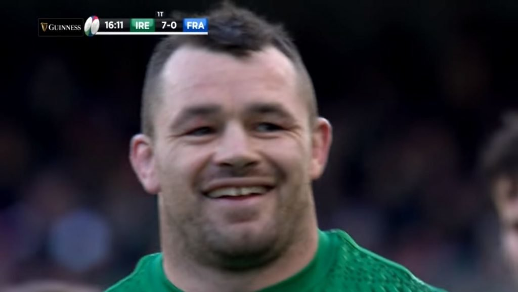 FOOTAGE: Cian Healy's excellent Law knowledge undone by damn sausage fingers
