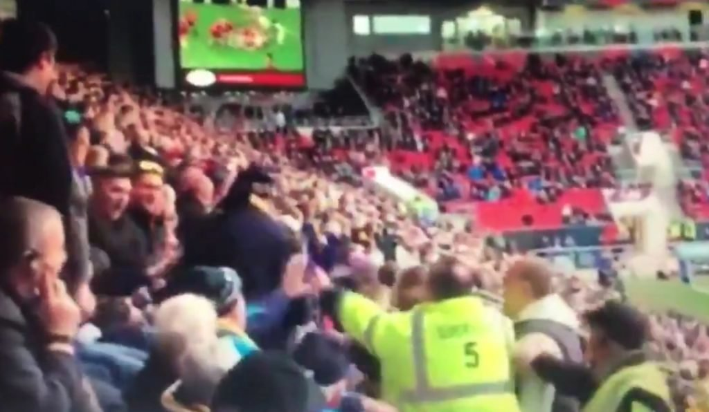 VIDEO: Shocking footage emerges of Worcester 'fan' punching woman in Ashton Gate