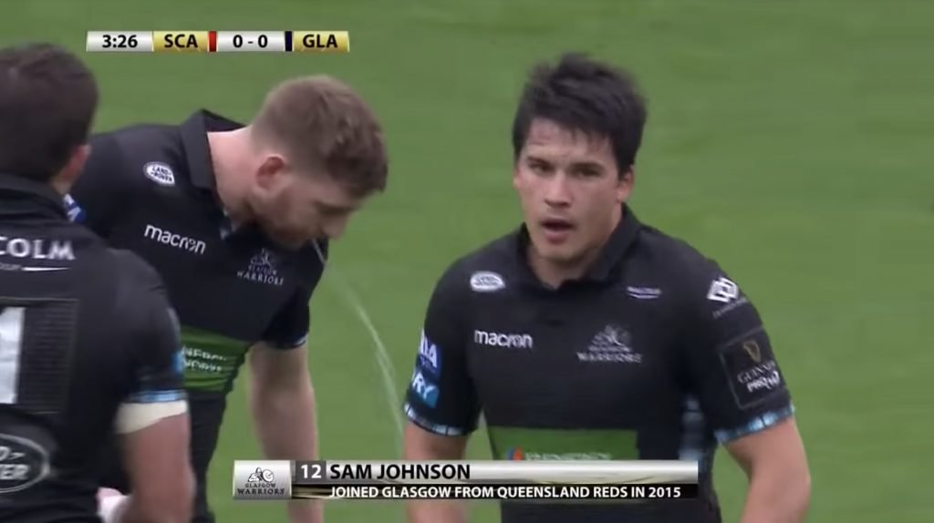 SUPERCUT: Scotland 12 Sam Johnson could very well be the best centre in the Northern Hemisphere after watching this