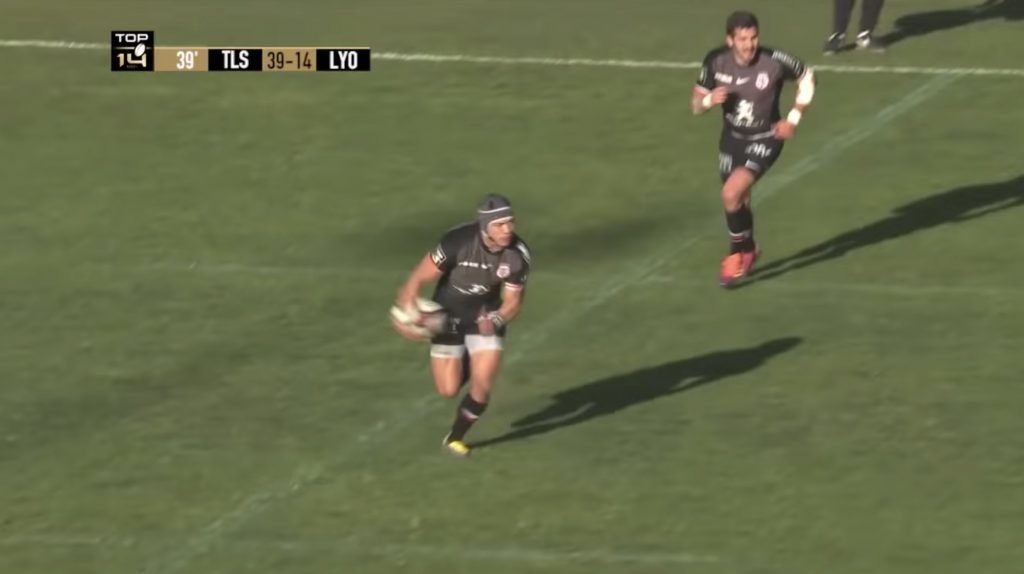 WATCH: Cheslin Kolbe beats defenders for fun in yet another outstanding run from the South Africa winger