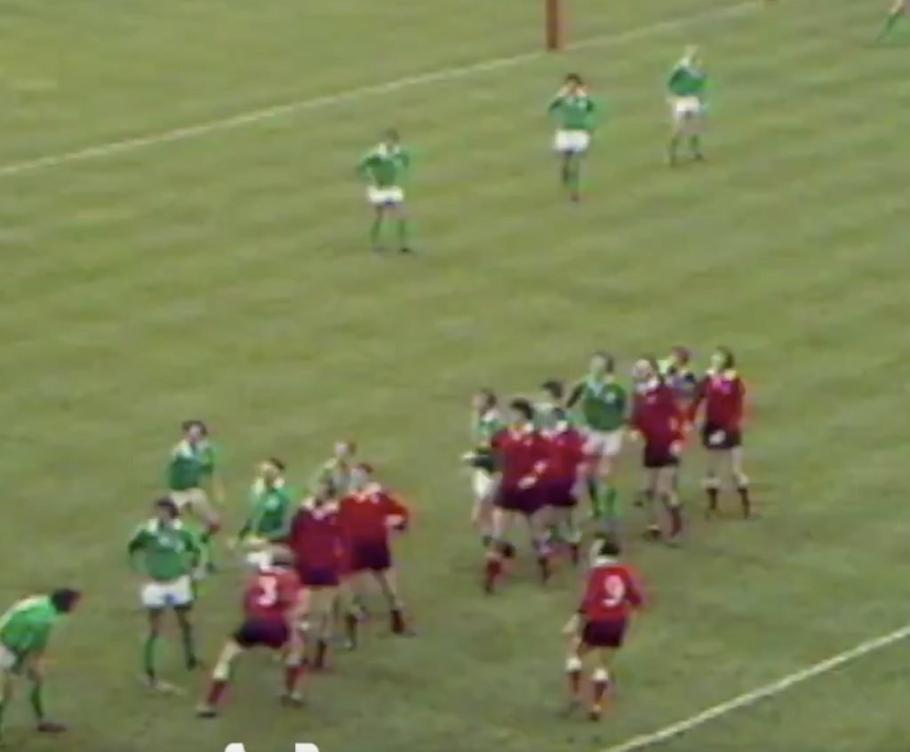 WATCH: Archived footage reveals the last time Wales had a potent attacking threat against Ireland