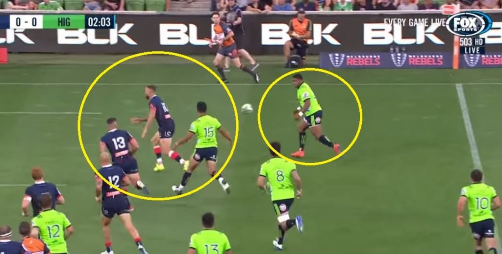 VIDEO: Naholo sends Quade Cooper flying like a discarded 2am kebab