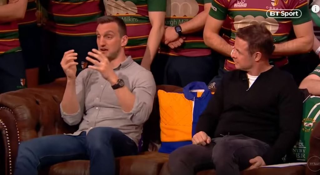 FOOTAGE: Sam Warburton on what it's like being concussed in a Wales England match