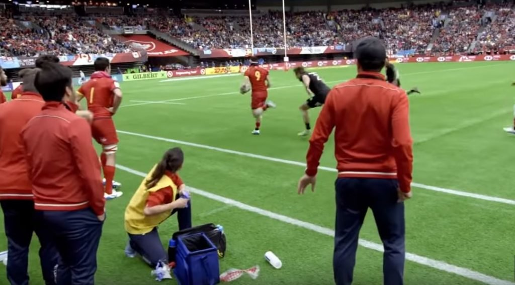FOOTAGE: Spain destroys the All Blacks 7s team with apparent ease