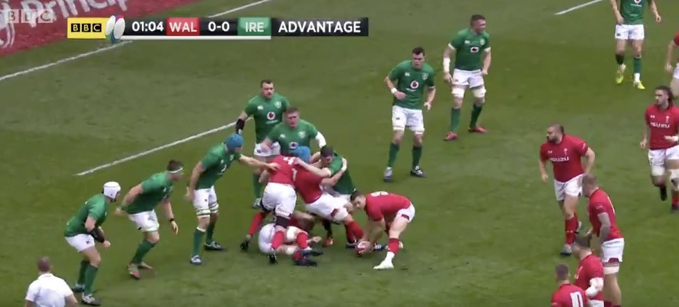 WATCH: Wales completely bypass Irish defence with surgically precise move