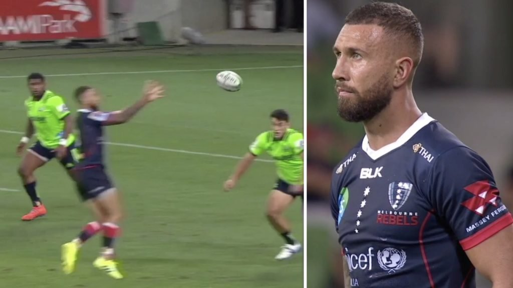 WATCH: Red hot Quade Cooper sets up TWO tries with ridiculous skill for the Rebels