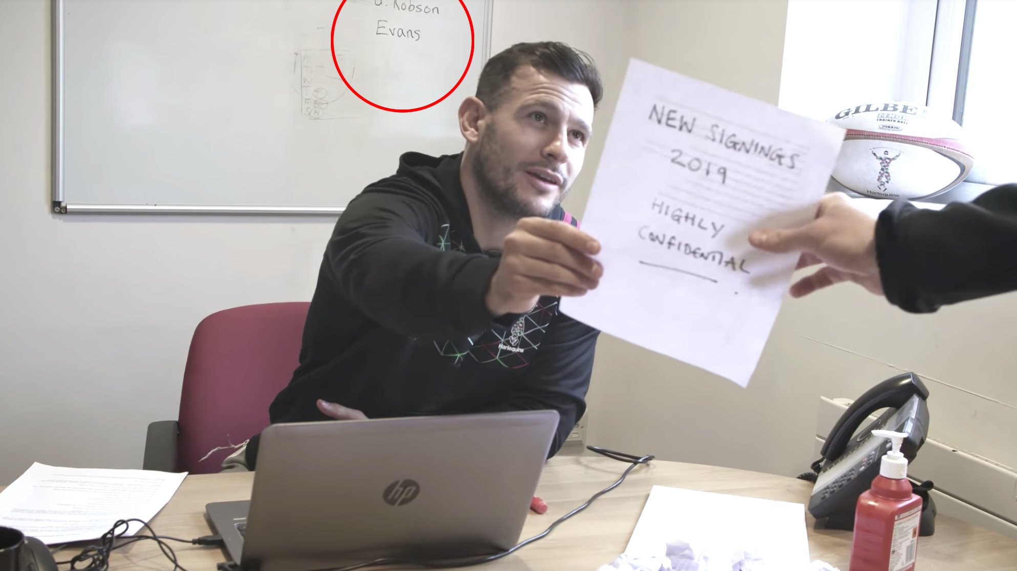 WATCH: Harlequins tease new signings, including an international, in new video