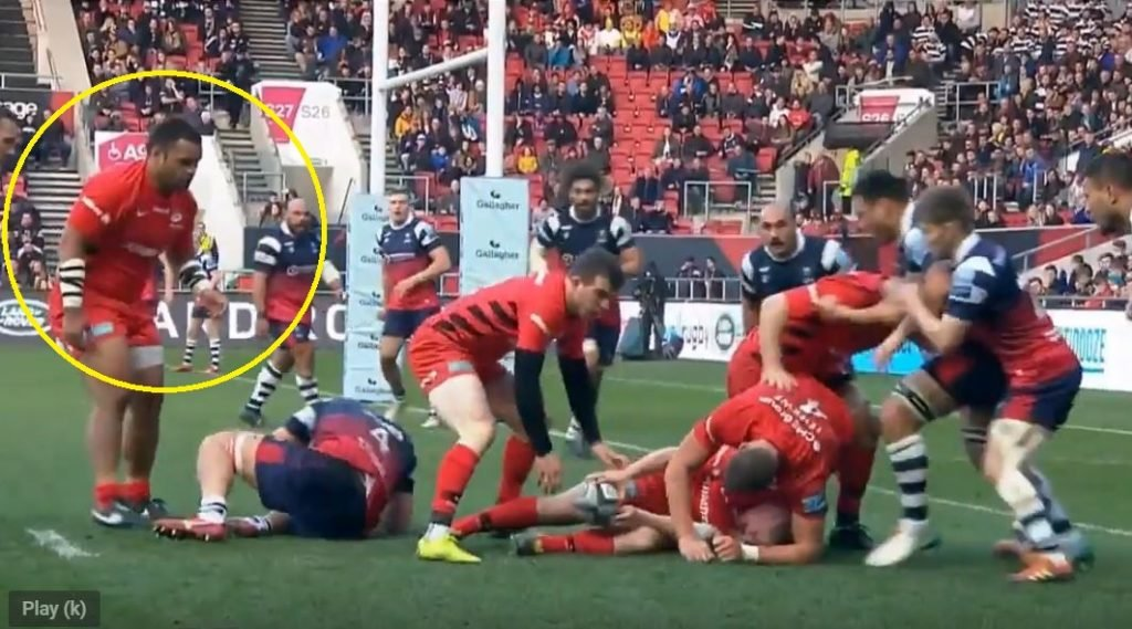 FOOTAGE: Watch as Billy Vunipola momentarily booed at Ashton Gate