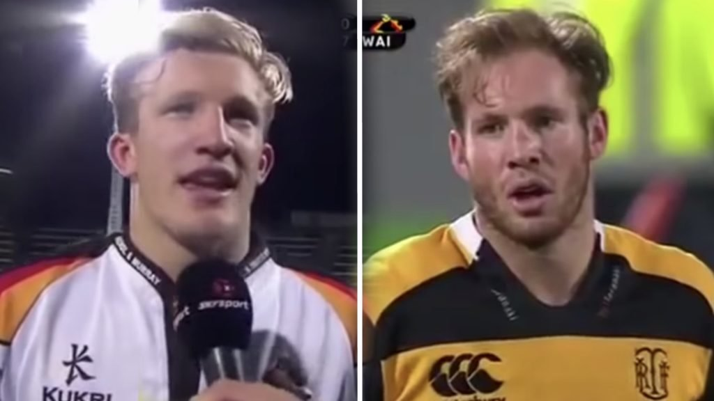 WATCH: A HILARIOUS compilation has been made on the time that the McKenzie brothers played each other in the Mitre Cup