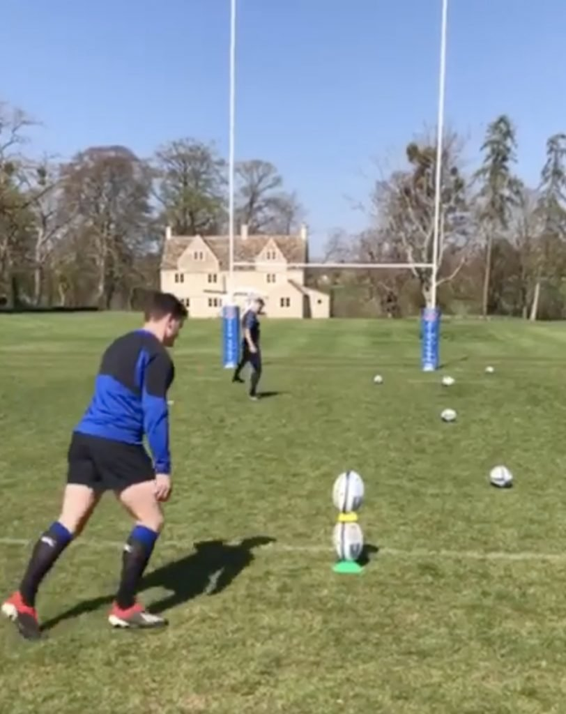 WIZARDRY: Freddie Burns has just put some RIDICULOUS tekkers on his social media