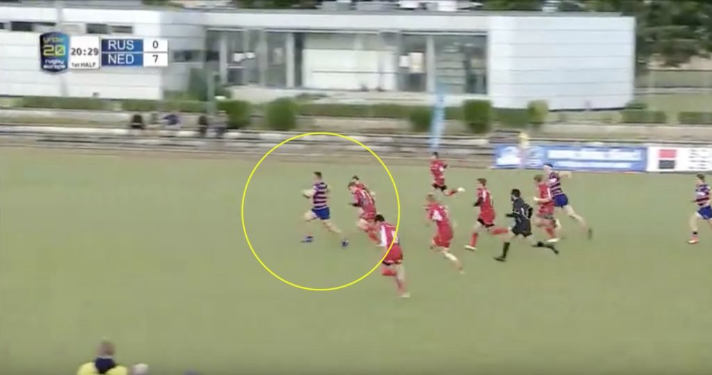 WATCH: Dutch back-row is a class above the whole pitch with thunderous performance