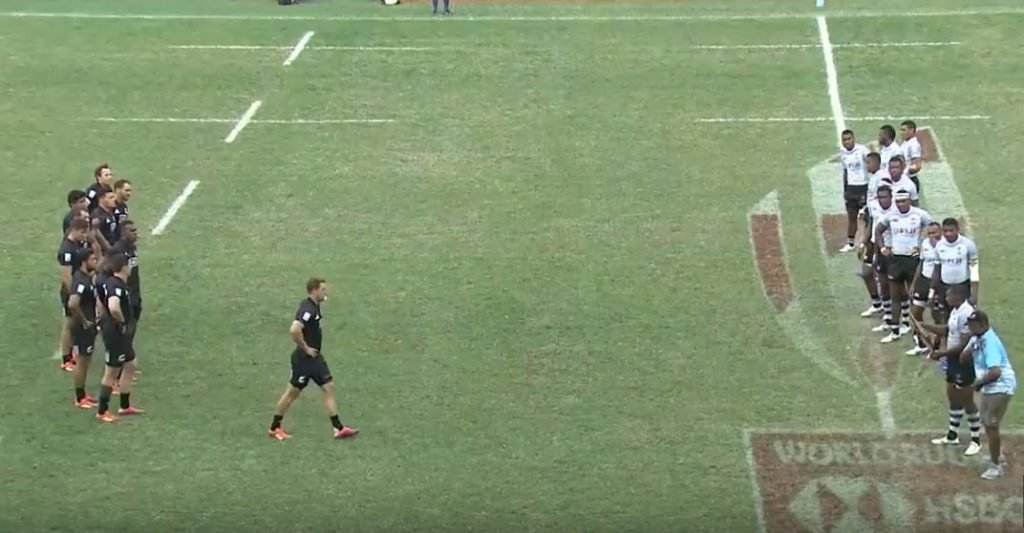 FOOTAGE: Fiji break routine ahead of clash with arch rivals NZ at the Hong Kong 7s