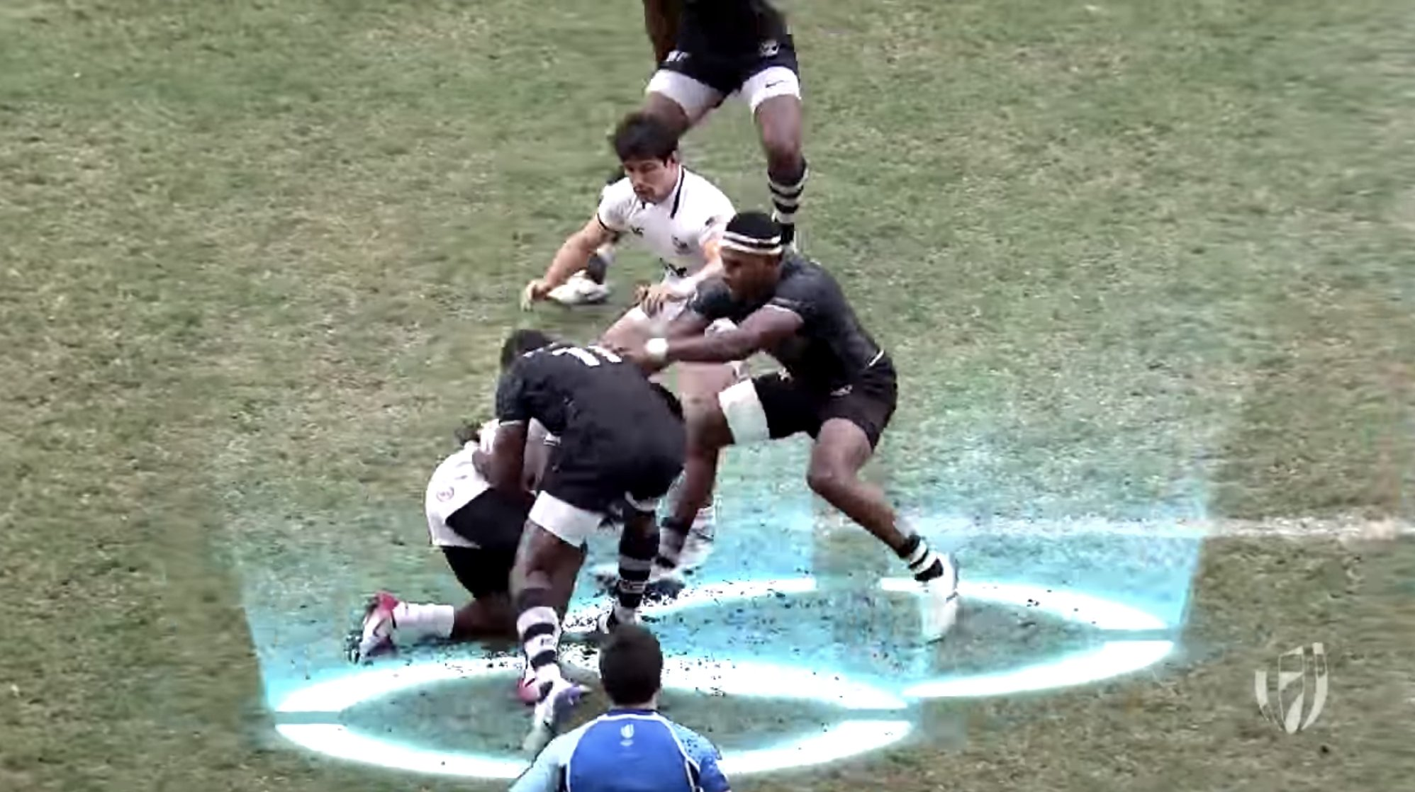 WATCH:  New video reveals how ferociously dangerous Fiji are at the breakdown