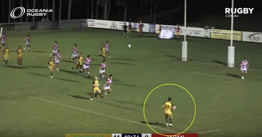 WATCH: Australia's replacement for Israel Folau may very well have been found