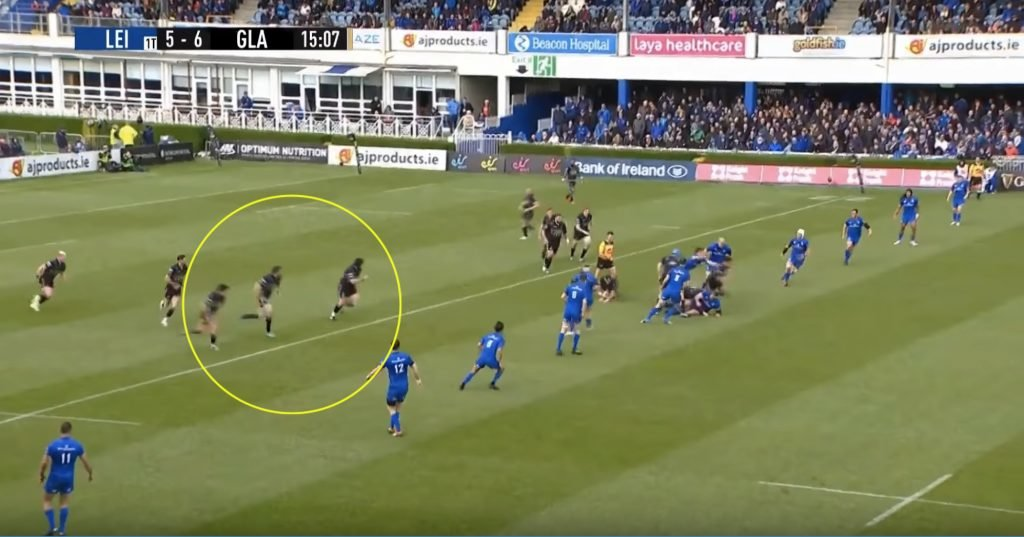WATCH: Sam Johnson proves he has the best fend in the World with a wonder try from their own 22