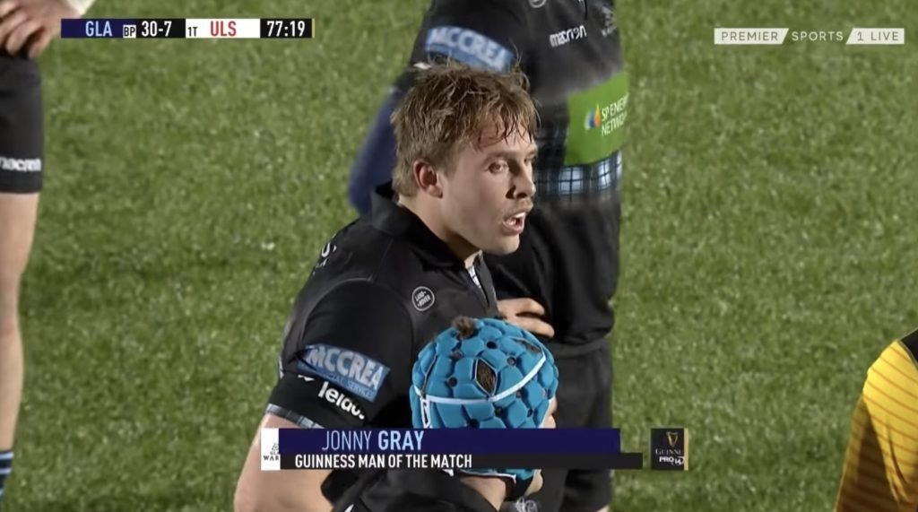 WATCH: Jonny Gray's GOLIATH performance this weekend against Ulster was something else