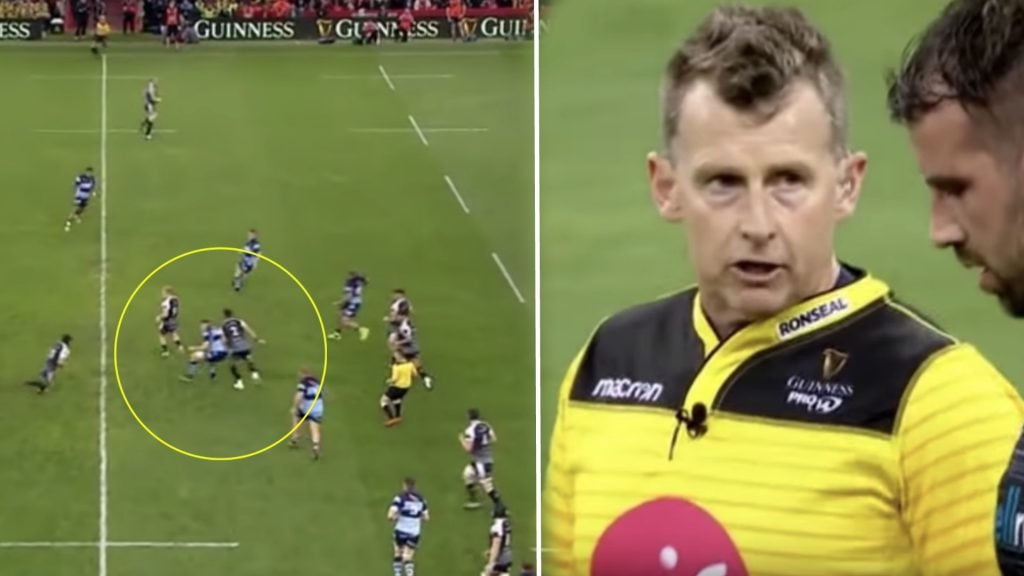 WATCH: Nigel Owens' acceptance of help from TMO exemplifies what all refs should be doing at the top level