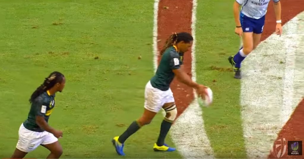 FOOTAGE: Blitz Boks take just 5 seconds to score from this kick off