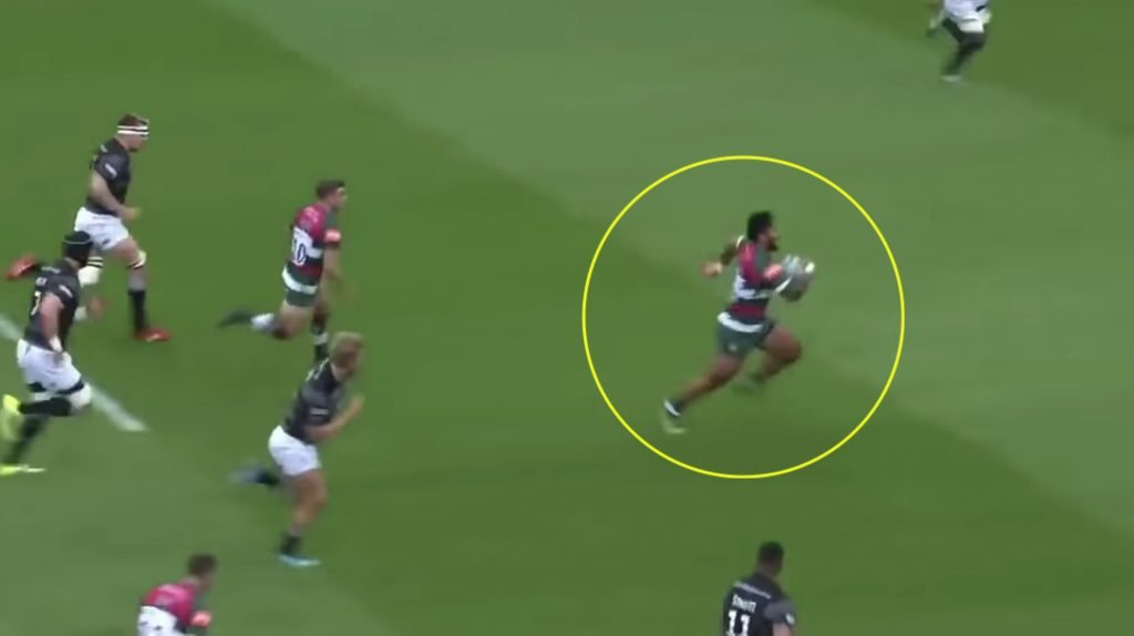 WATCH: Brand new Manu Tuilagi supercut is nothing short of insanity, he is truly BACK