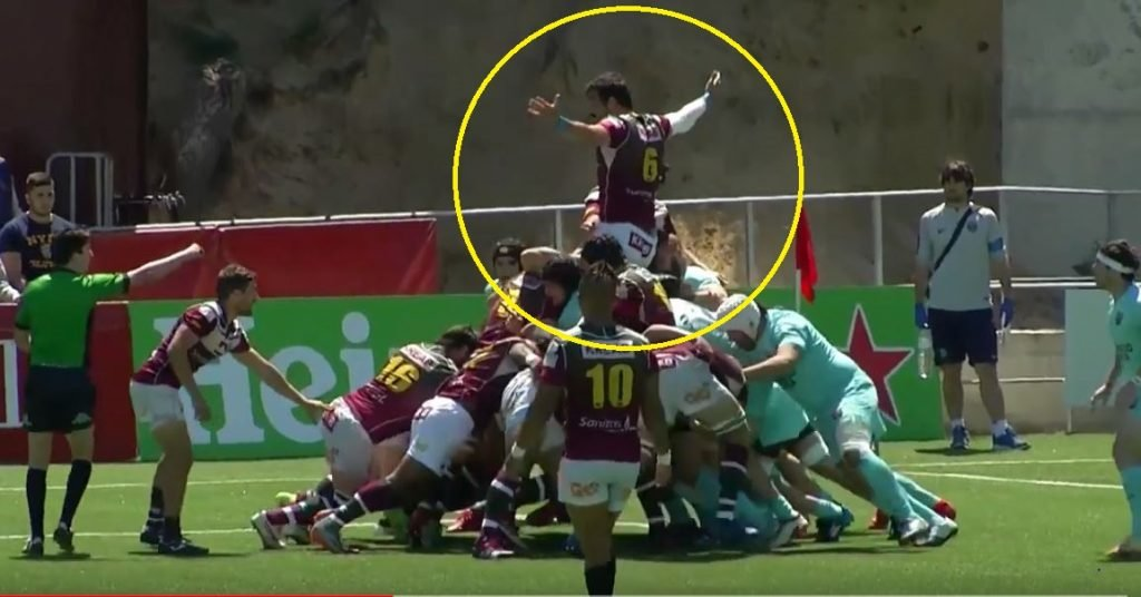 Blindside awarded penalty try after he proclaims himself a king or something