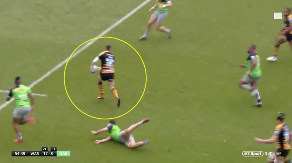 WATCH: Daly's unbelievable speed score shows why Saracens will be unbeatable next year