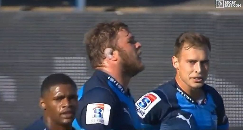 SPEED: Duane Vermeulen turns back the years to score ridiculous 60m try versus the Tahs