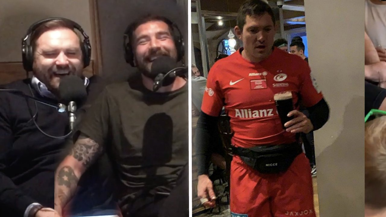 VIDEO: Alex Goode has finally revealed what happened on the MEGA SESH after Saracens' European victory