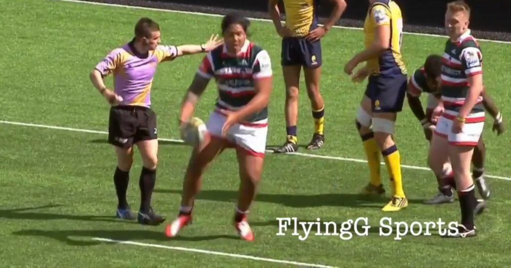 Six foot three, 120kg new Tuilagi - 'Freddie Jnr' - has his first supercut and it's promising