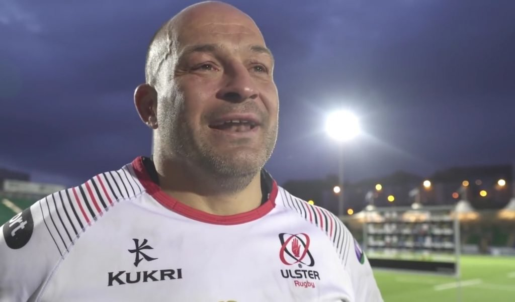 Finally...Rory Best very nearly starts crying after final Ulster game