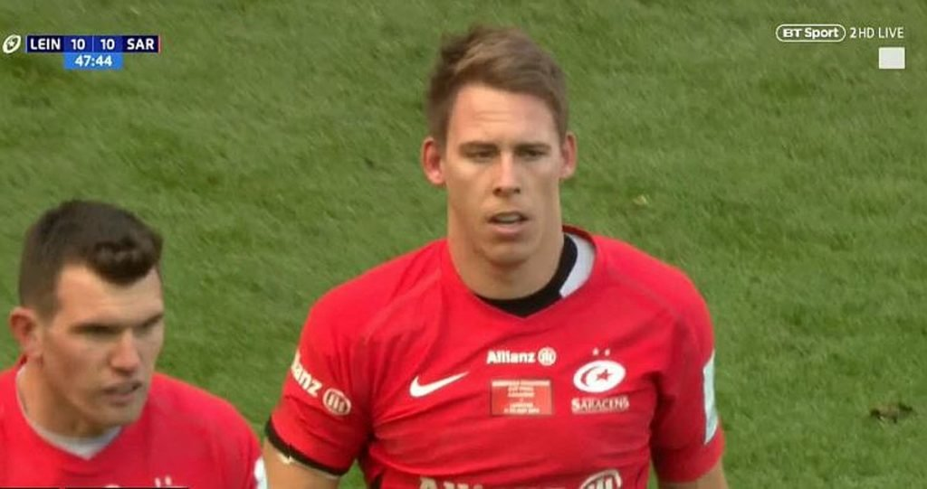 FOOTAGE: Liam Williams invokes his inner Sam Warburton for majestic piece of defending