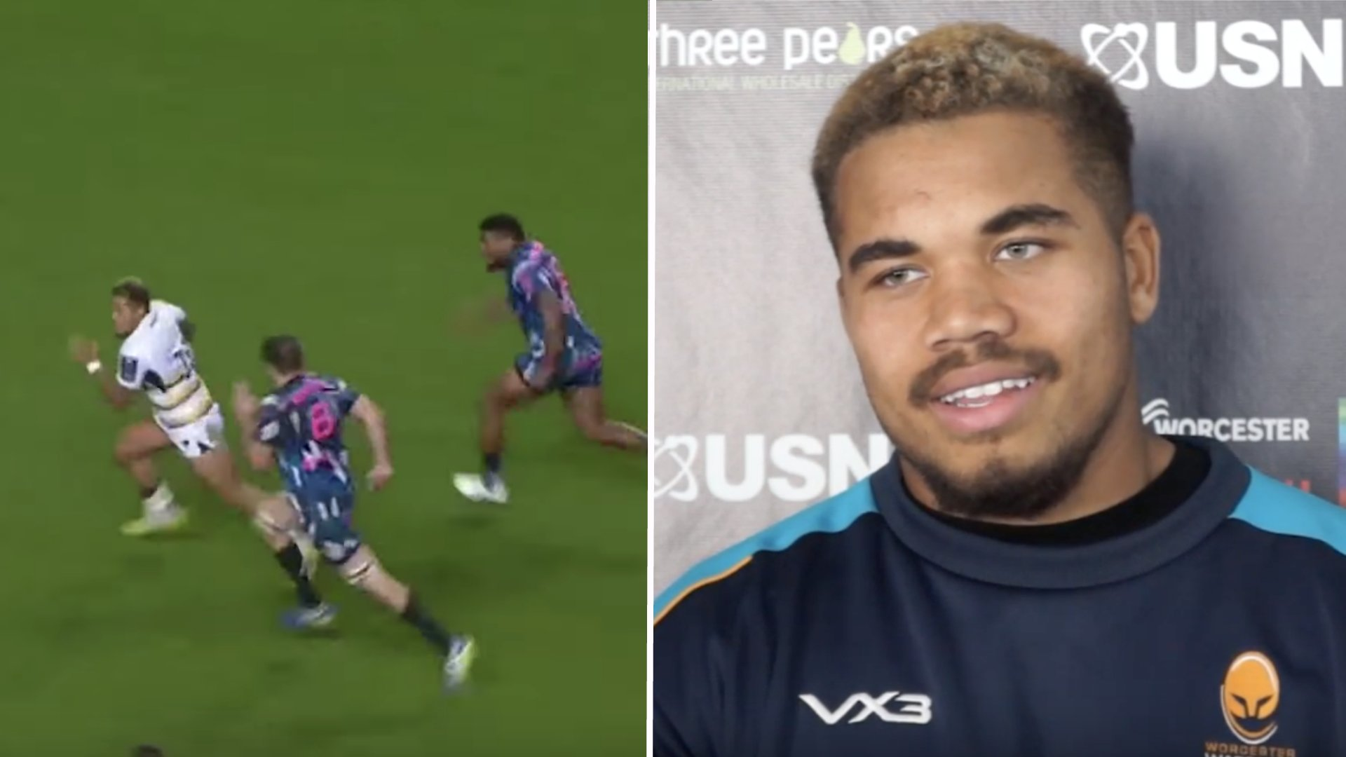 WATCH: The 19-year-old youngster who has been tearing it up in his first season at Worcester