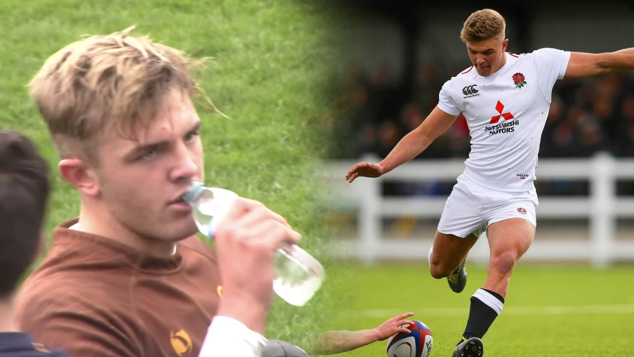 FOOTAGE: England under 18 fly-half's highlight reel has just dropped and it's certified madness