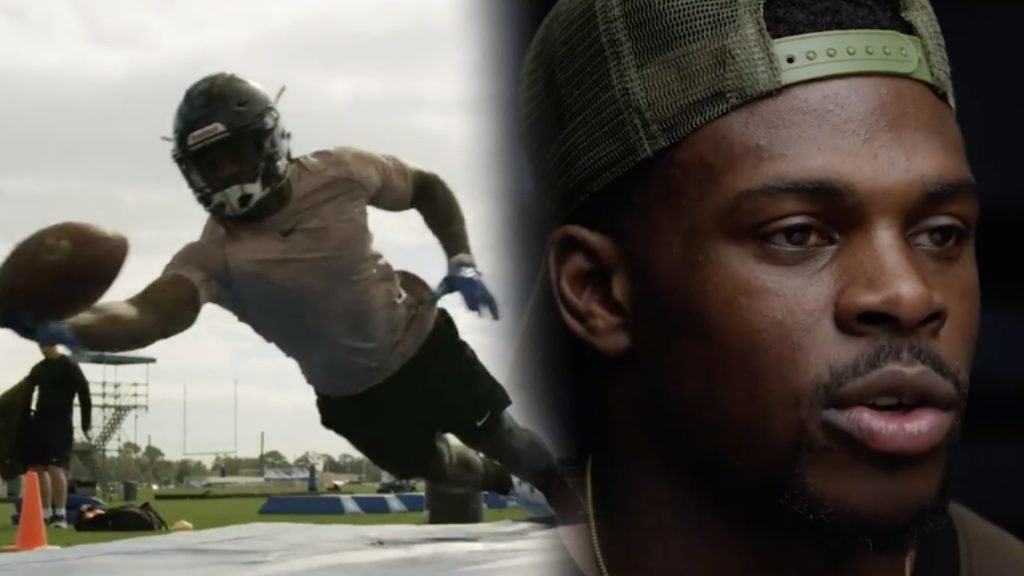 WATCH: Christian Wade NFL training showreel is surprisingly impressive