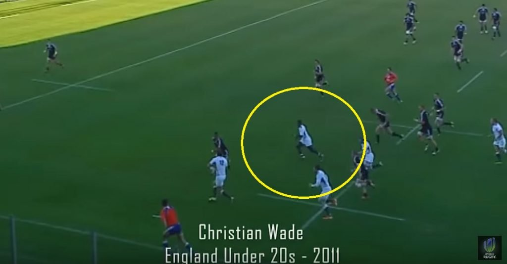 FOOTAGE: Christian Wade rinses Beauden Barrett in a 1-on-1 in 2011