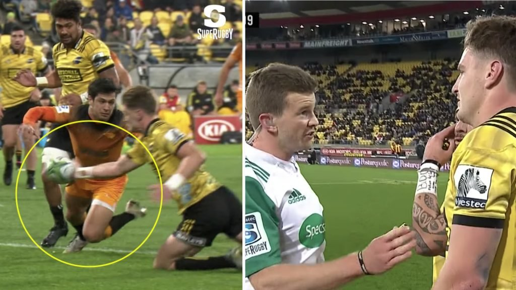 CHEAT: Jordie Barrett's outrageous piece of cheating proves you can never trust an All Black