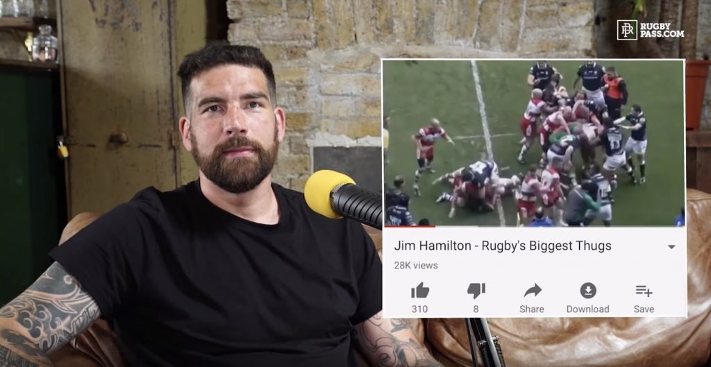 "WATCH: Jim Hamilton reacts to ""THUGGISH"" compilation that was released about him"
