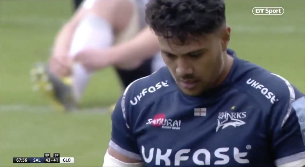 WATCH: Denny Solomona has just scored one of the tries of the season