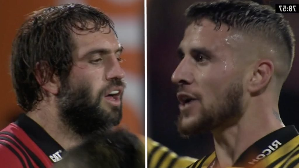 Sam Whitelock gets away with god-level cheating that is only capable of by an All Black