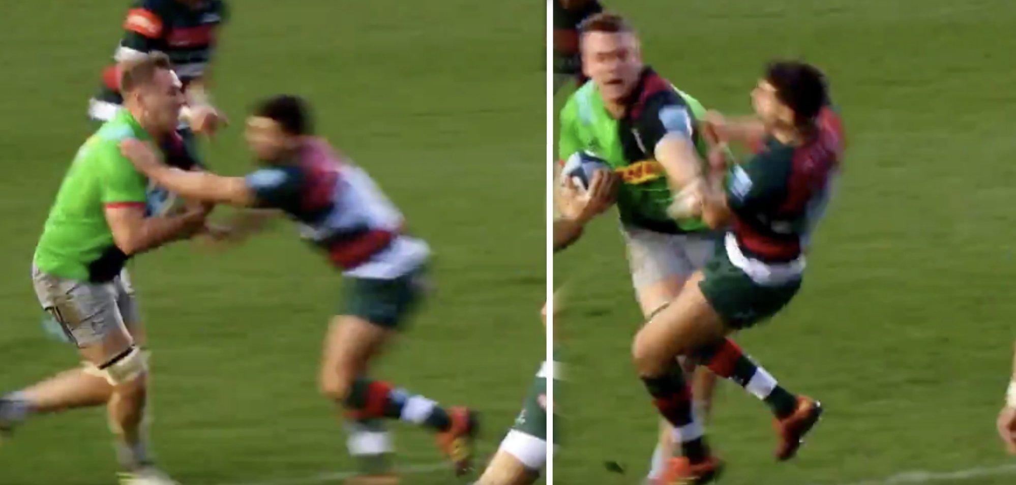 New video reveals how destructive England rookie Alex Dombrandt is