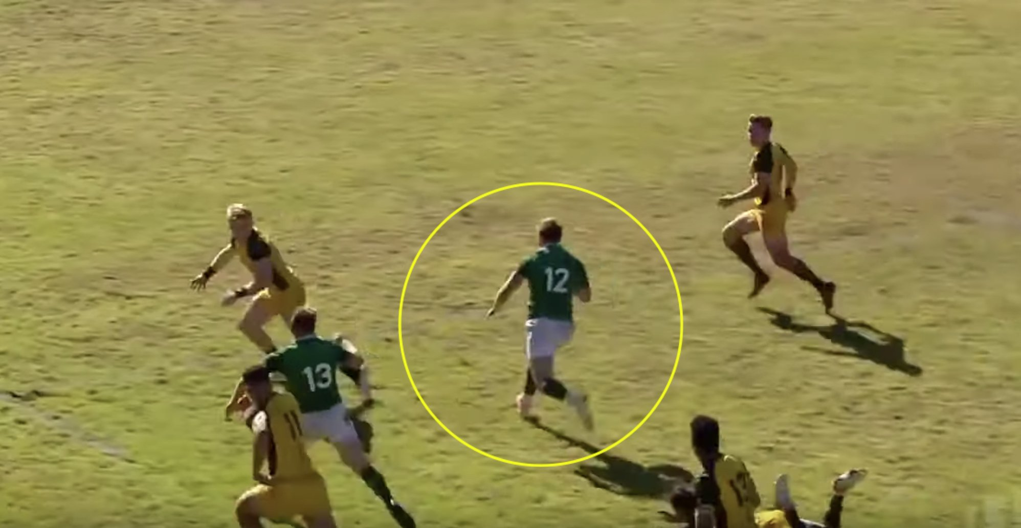 Hype growing around Irish centre as new highlight video drops on Stewart Moore