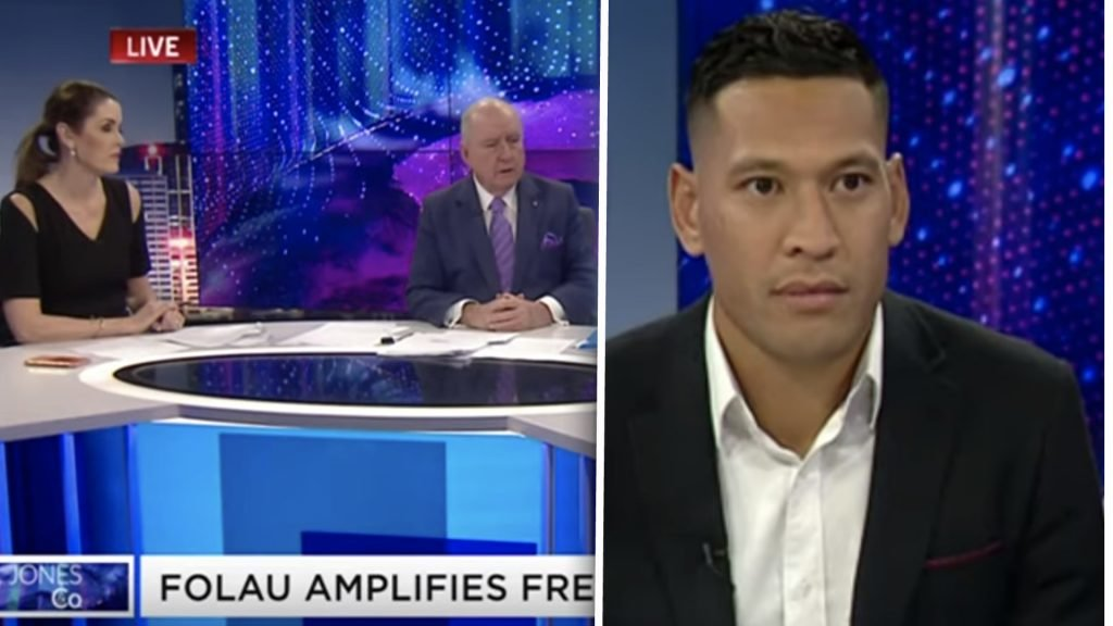 WATCH: Israel Folau appears on television for first time since social media scandal